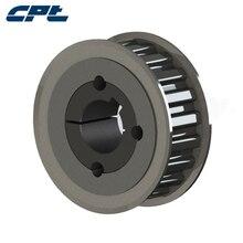 CPT HTD 5 м зубчатый шкив колеса 5 м шкив, 36 зубьев, 15 мм Широкие ремни, черный оксид, спичка 1108 коническая втулка 36-5M-15-1108(T/L
