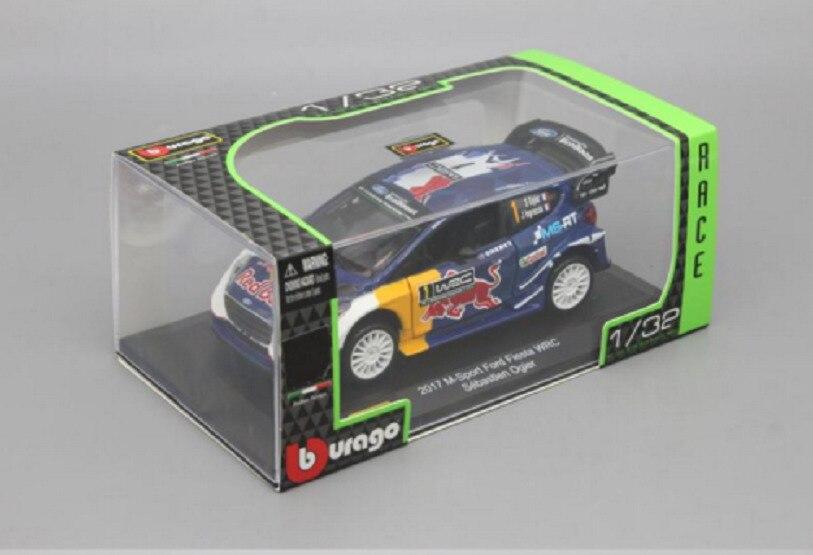 Bburago 1:32 2017 M Sport Ford Fiesta WRC Sebastien Ogier Diecast Model Race Car NEW IN BOX