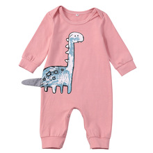 VTOM Autumn New  Baby Rompers Hot Sale Newborn Costume Long -sleeved O-Neck Jumpsuits Infant Boys Girls Clothes