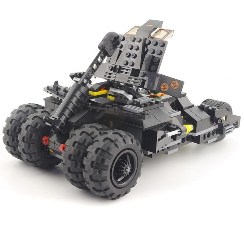 ФОТО Mocai Super Heroes logoes Bat-Pod Motorcycle bricks blocks educational for children batman movie building blocks-JHTY017