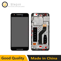 For Huawei Google Nexus 6P LCD Display With Touch Screen Digitizer Assembly With Frame Black Free