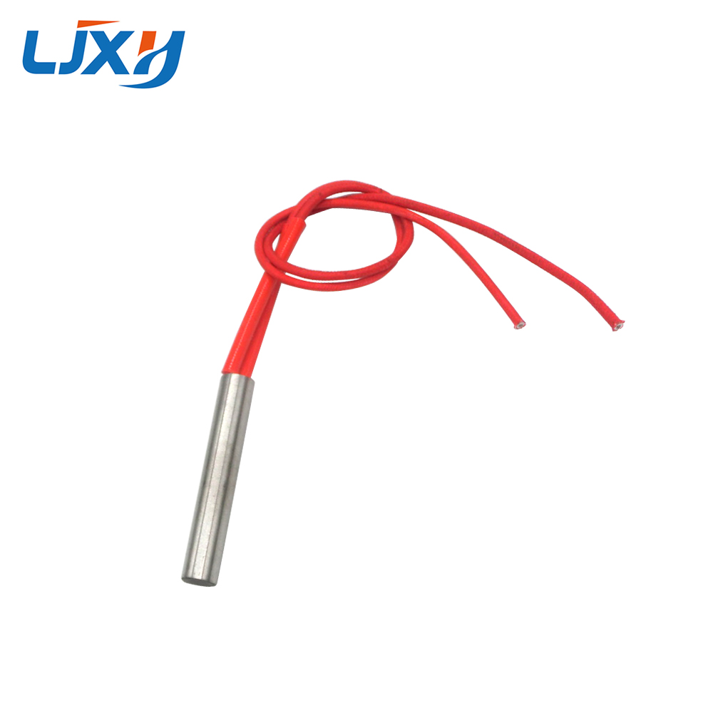 LJXH 10pcs Cylindrical Cartridge Heating Element Tubular Heater 10mm Tube Diameter, 40mm Length 100W/120W/150W, AC110V/220V/380V ljxh cartridge heater heating element 400w 220v 2pcs 9 5mm tube dia 180mm length ac110 380v 550w 700w for household appliances