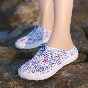 2018 women's casual Clogs Breathable beach sandals valentine slippers summer slip on women flip flops shoes home shoes for women