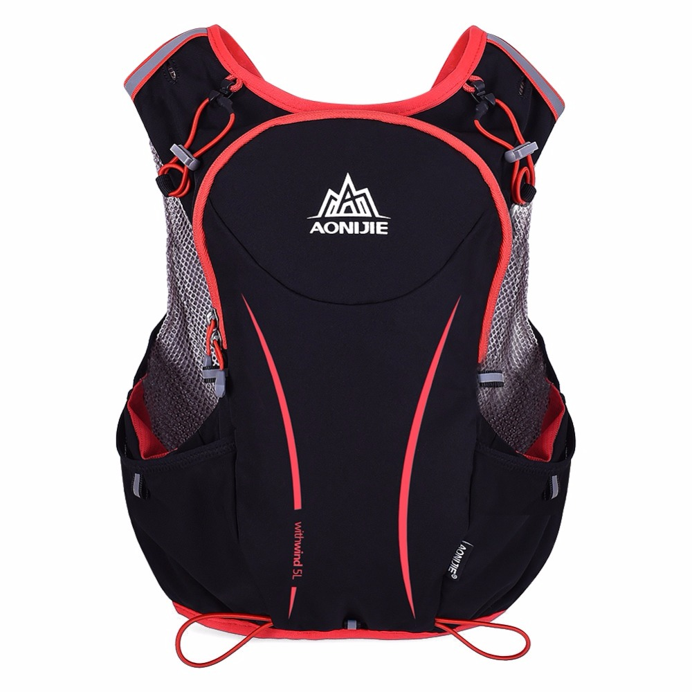 Outdoor Sport Running Backpack Women/Men Marathon <font><b>Hydration</b></font> Vest Pack For 1.5L Water Bag Cycling Hiking Bag New