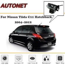 AUTONET macchina fotografica di Retrovisione Per Nissan Tiida Latio Berlina 2004 ~ 2012/CCD/Visione Notturna/Macchina Fotografica di Sostegno /della targa della macchina fotografica