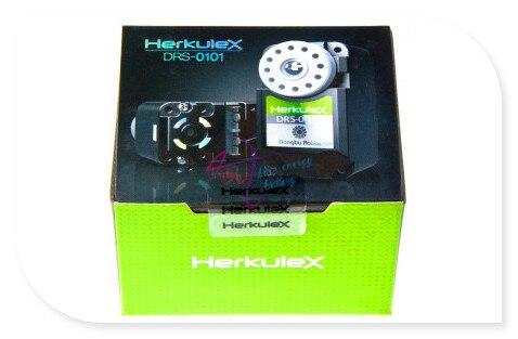 Южная Корея Dongbu HerkuleX DRS-0101 Смарт-Цифровой Сервопривод, Щетка углерода Порошковая Двигатель ПОСТОЯННОГО ТОКА 12 кг 320 градусов 7.4 В для роботов и т. д.