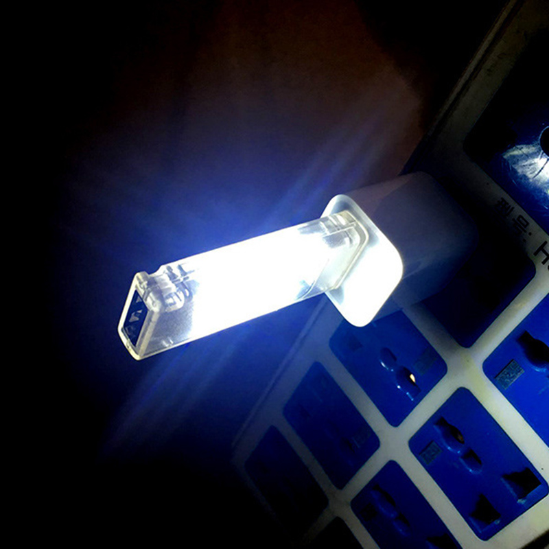 Mini USB Led Night Light Camping Lamp Double Sided 12 Leds USB Charging Reading Light Computer Laptop Desk LED Lamp