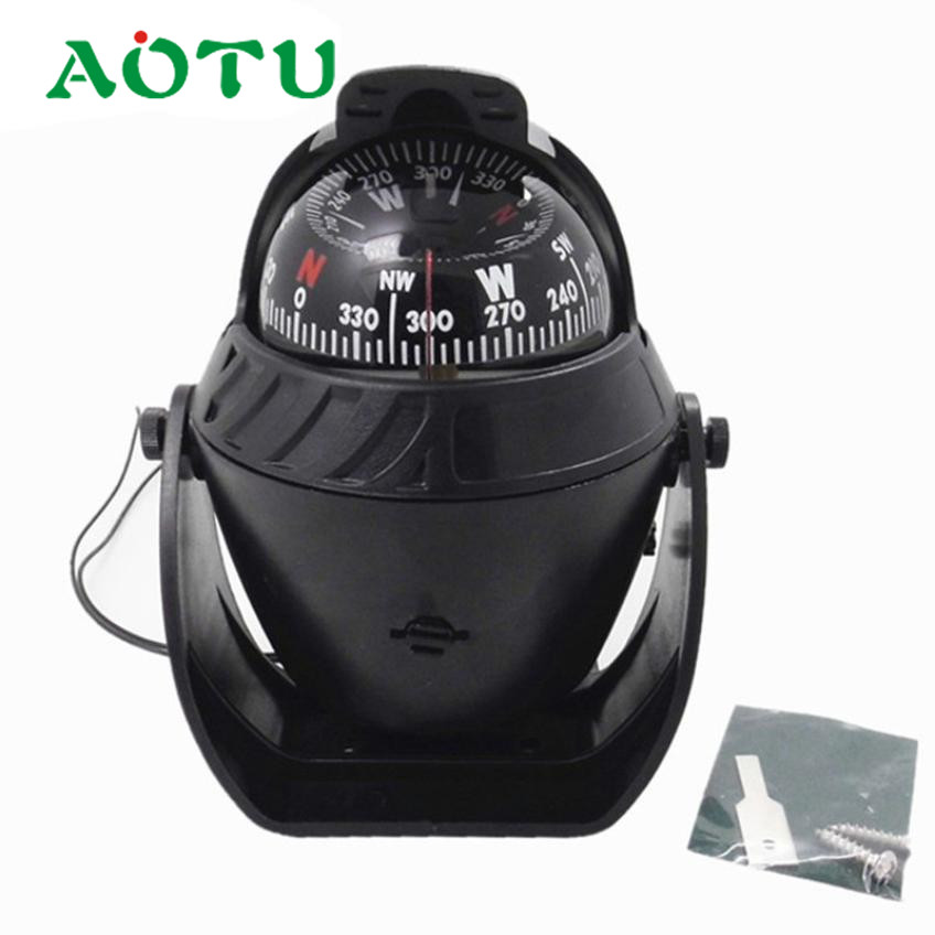 ABS Sea Marine Electronic Boat Caravan Truck 12V Digital Compass LED Light