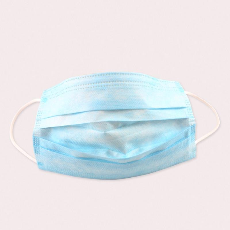 50pcs Loop Elastic Surgical Ear Masks Medical Dustproof Mask