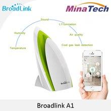 Broadlink A1 Detector de Aire Seneor Domótica Inteligente de Pruebas de Calidad del aire Ionizador PM2.5 Aire Control por WIFI/Electrodomésticos IR
