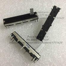 1PCS Slide Potentiometer fader 10Kb x 2 Slide Volume For Korg and Roland Keyboard