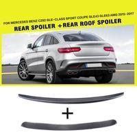 Carbon Fiber Car Rear Trunk Spoiler Lip Wing for Mercedes Benz C292 GLE Class Sport GLE43 GLE63 AMG 2015 2017