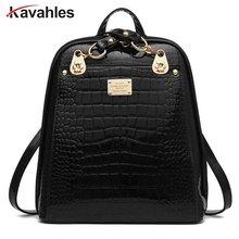Европейский и американский стиль сплошной Высокое качество кожа мужчины рюкзак сумка школьный компьютер дорожная сумка женщины рюкзак PP-255
