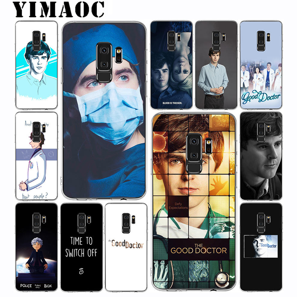 Intellective Yimaoc The Good Doctor Soft Silicone Case For Samsung Galaxy S10 S10e S9 S8 Plus S7 S6 Edge & Note 9 8 Soft Cover Cheapest Price From Our Site Cellphones & Telecommunications