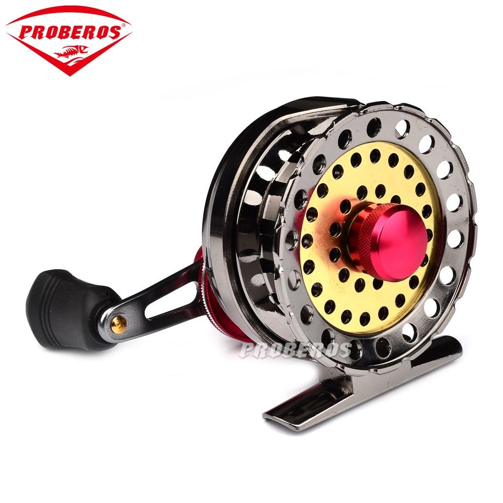 All metal fishing wheel Raft wheel 6+1 Ball Bearings Baitcasting Gear ratio: 2.6:1 Fishing Reels цена