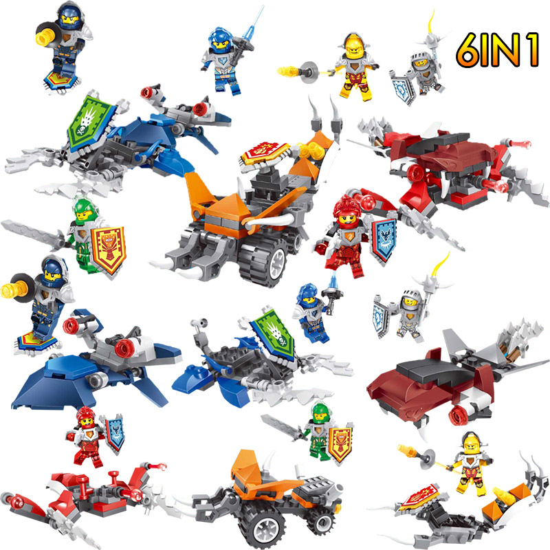 Building Blocks Nexus Knights Toys Figures Toys Bricks For Children Gifts Compatible With LegoINGly DIY Toys Hobbies