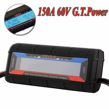 G.T.Power 130A 150A RC Watt Meter Power Analyzer Digital LCD Tester 12v 24v 36v High Precision