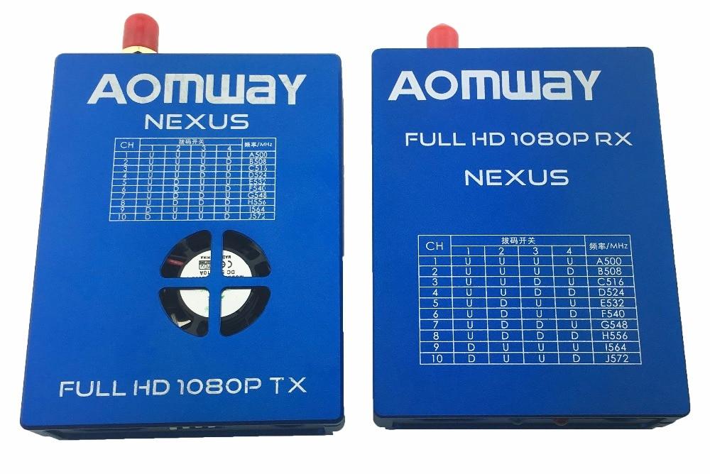 AOMWAY Nexus 1080P FULL HD Digital transmitter tx & rx reciever for quadcopter