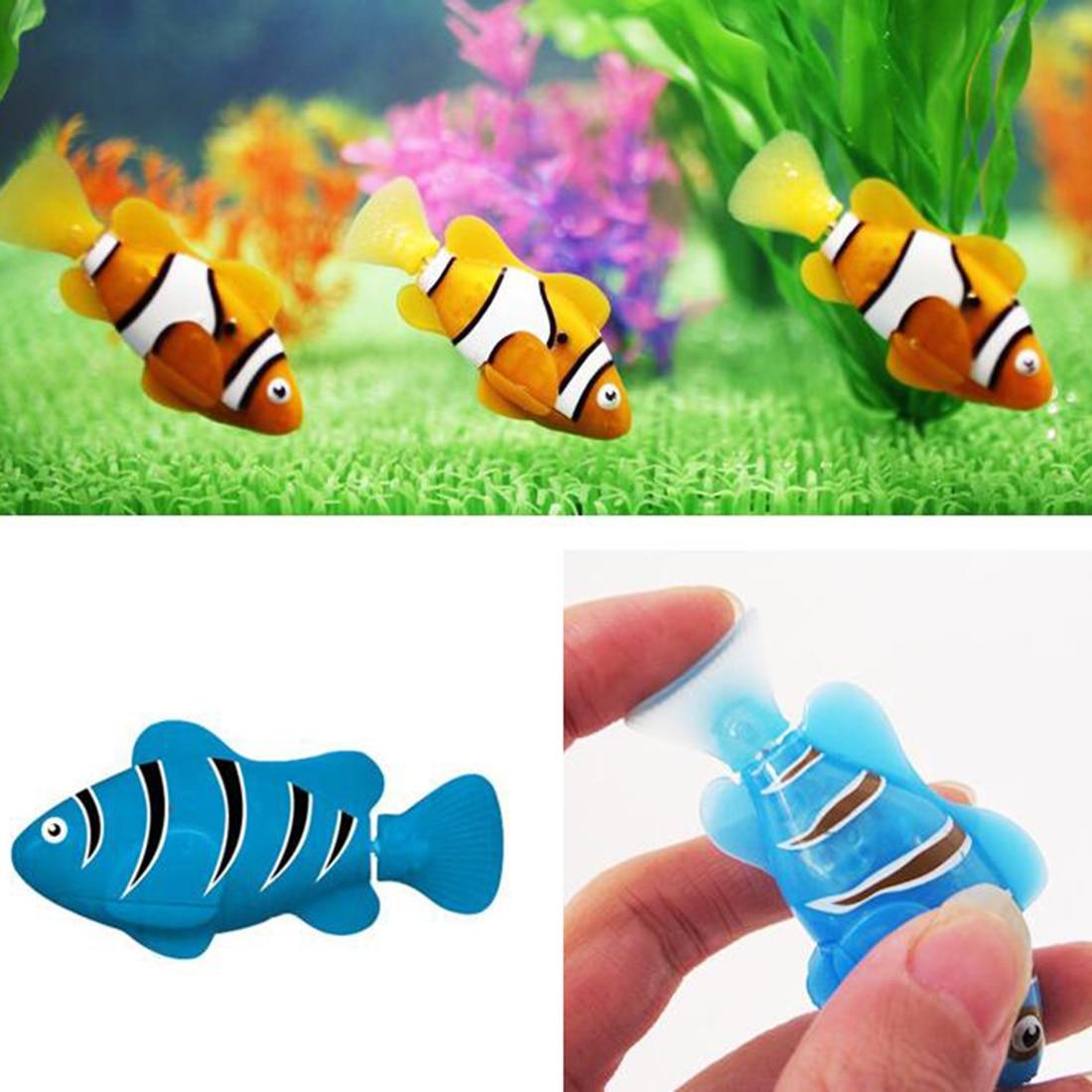 Fish tank toys - Big Sale Robofish Activated Battery Powered Robo Fish Toy Fish Robotic Fish Tank Aquarium Ornaments Decorations