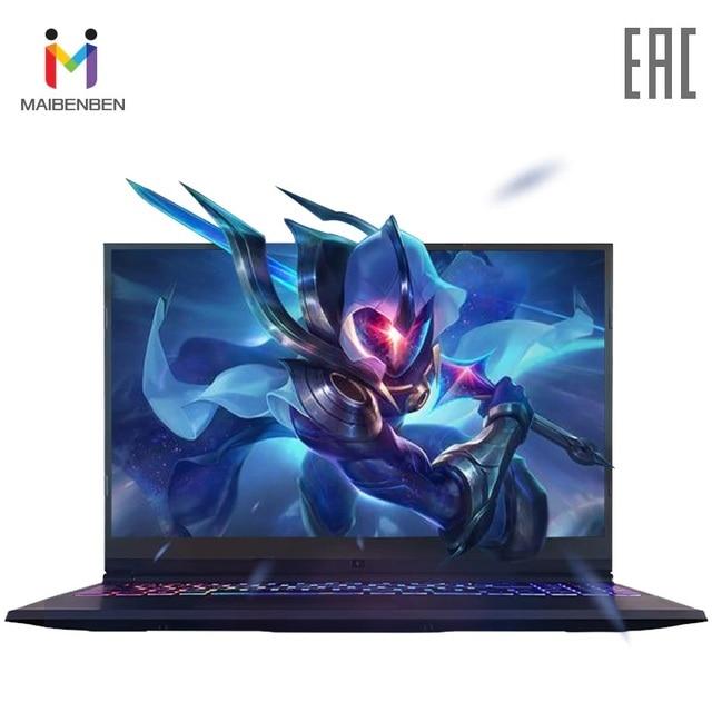 """Игровой ноутбук MAIBENBEN Z5 15,6"""" i5-8300H/8 г DDR4/256 ГБ SSD (M.2)/GTX1050 4GDDR5/DOS/черный"""