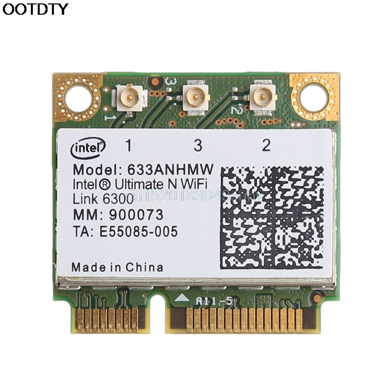 Dual Band 450M 633ANHMW PCI-E Wireless Card For Intel Ultimate-N WiFi Link 6300 ## New Hot
