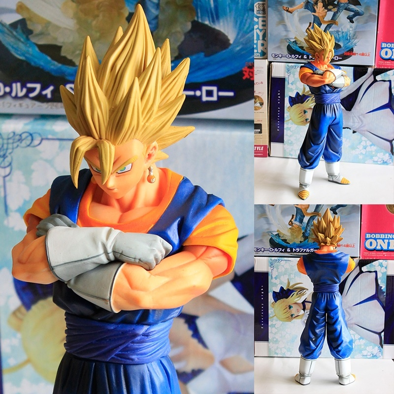 26CM Dragon Ball Z Action Figure The Vegetto Figure Vegeta And Kakarotto Merge Goku Collection Toys Gifts Japanese Anime WX079A