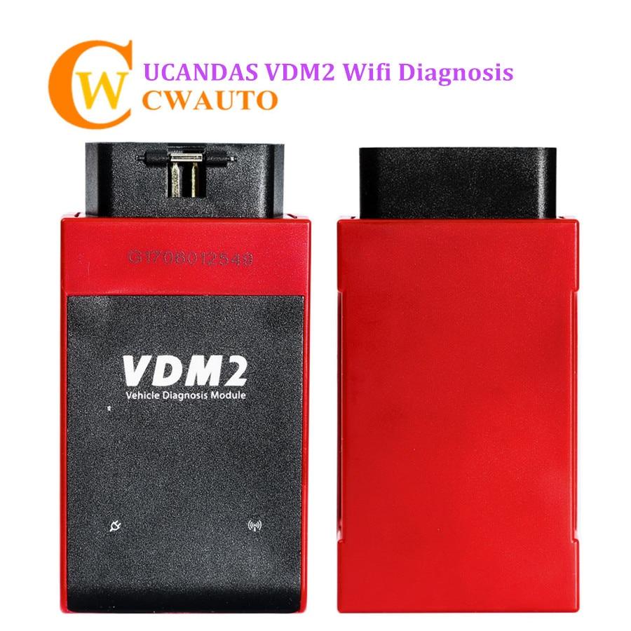 2018 V5.2 UCANDAS VDM2 VDM II WIFI Automotive Scanner For Android Support Multi-Language Update Online