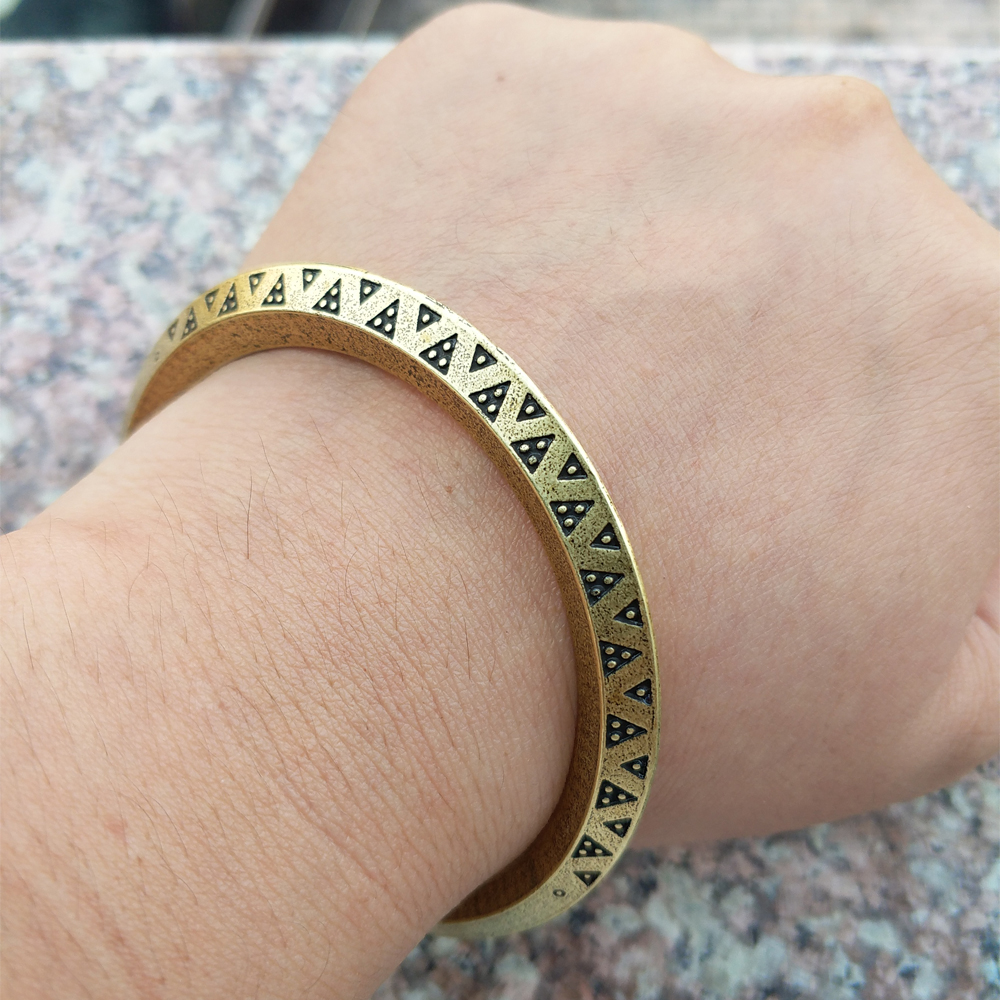 LANGHONG 10pcs Viking Money Bracelet Viking Pagan Norse Replica Bracelet viking кроссовки cascade ii gtx viking для девочки