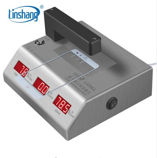 DHL or EMS free shipping LS108A Spectrum Transmission tester Mobile Phone Lens Transmission Meter with power supplied by 5v