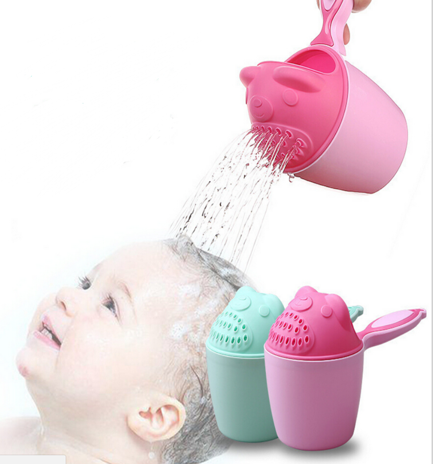 baby bath rinse cup waterfall rinser