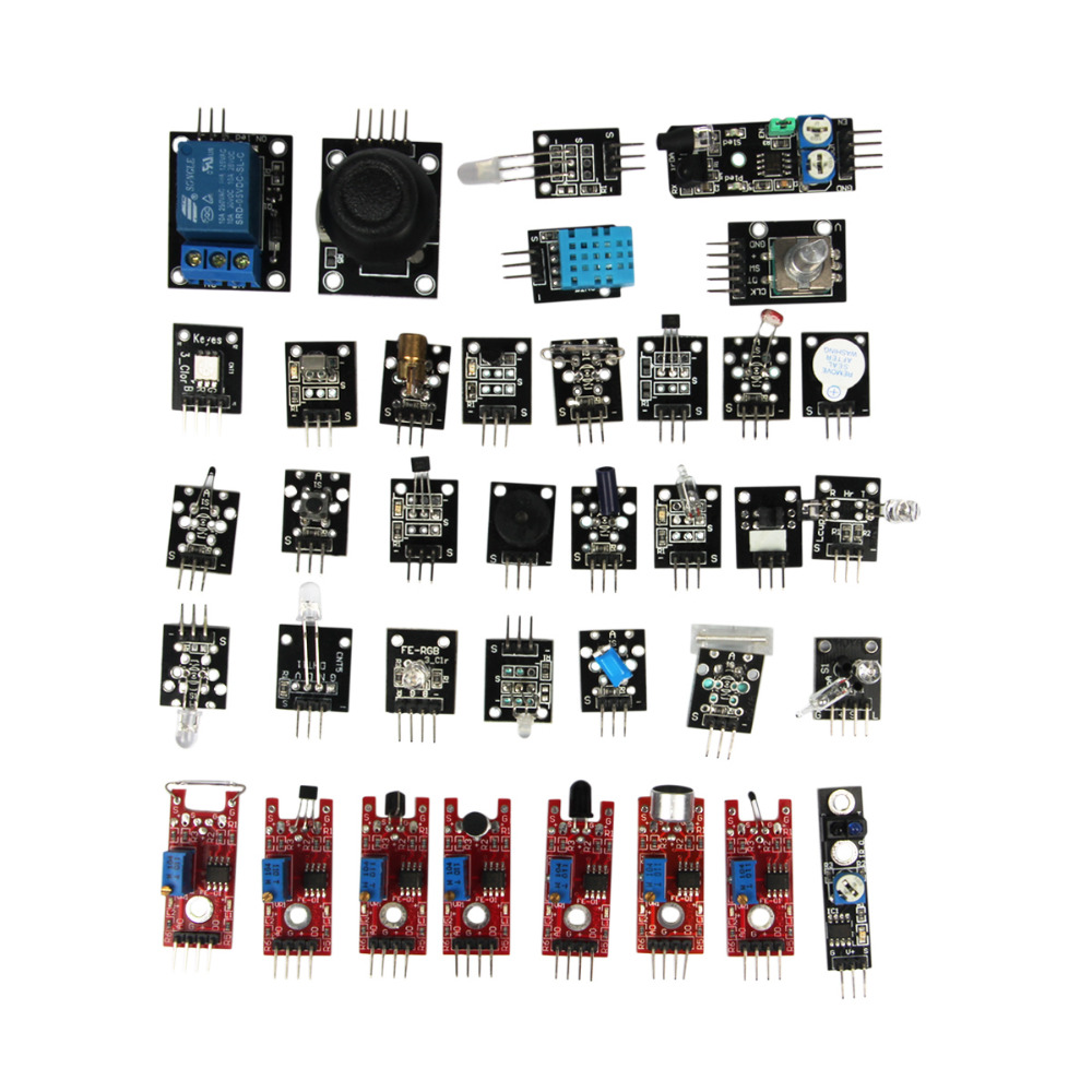 Ultimate in Sensor Modules Kit for Arduino  Raspberry Pi  MCU