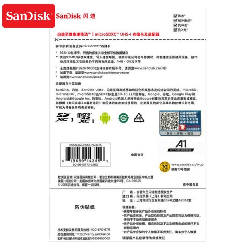 100% карта памяти Micro SD карта 256 Гб карта памяти SDXC до 100 МБ/с. C10 U1 A1 флеш-карта памяти Micro SD для телефона компьютера Бла (беспилотный летательный аппарат)