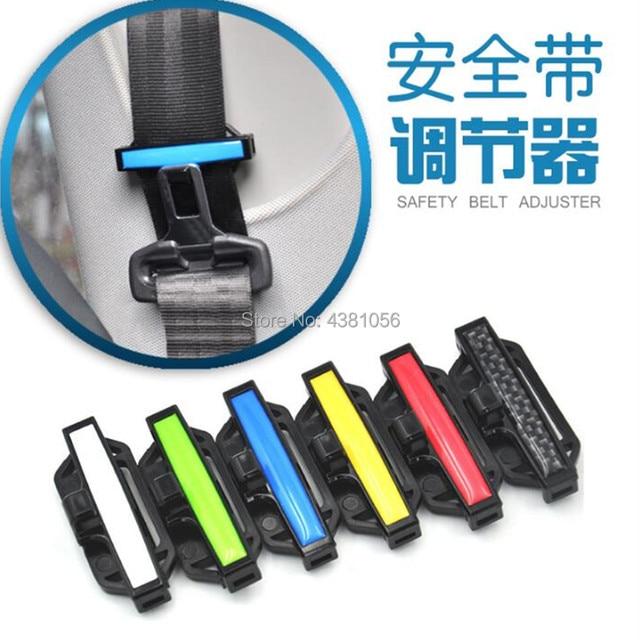 US $2 54 15% OFF Hot 2pcs Car Seat Belt Clip Safety Belts Accessories for  golf 7 kia sportage 2017 citroen c3 dacia duster nissan qashqai j11-in Car