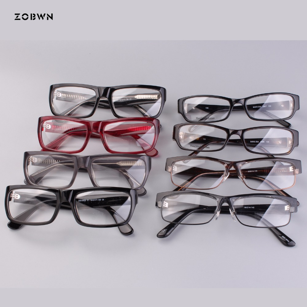 Mix wholesale vintage Goggles optical frame Anti-blue light Glasses Men Women Computer Gaming Eyeglasses Oversized Frame Anti UV