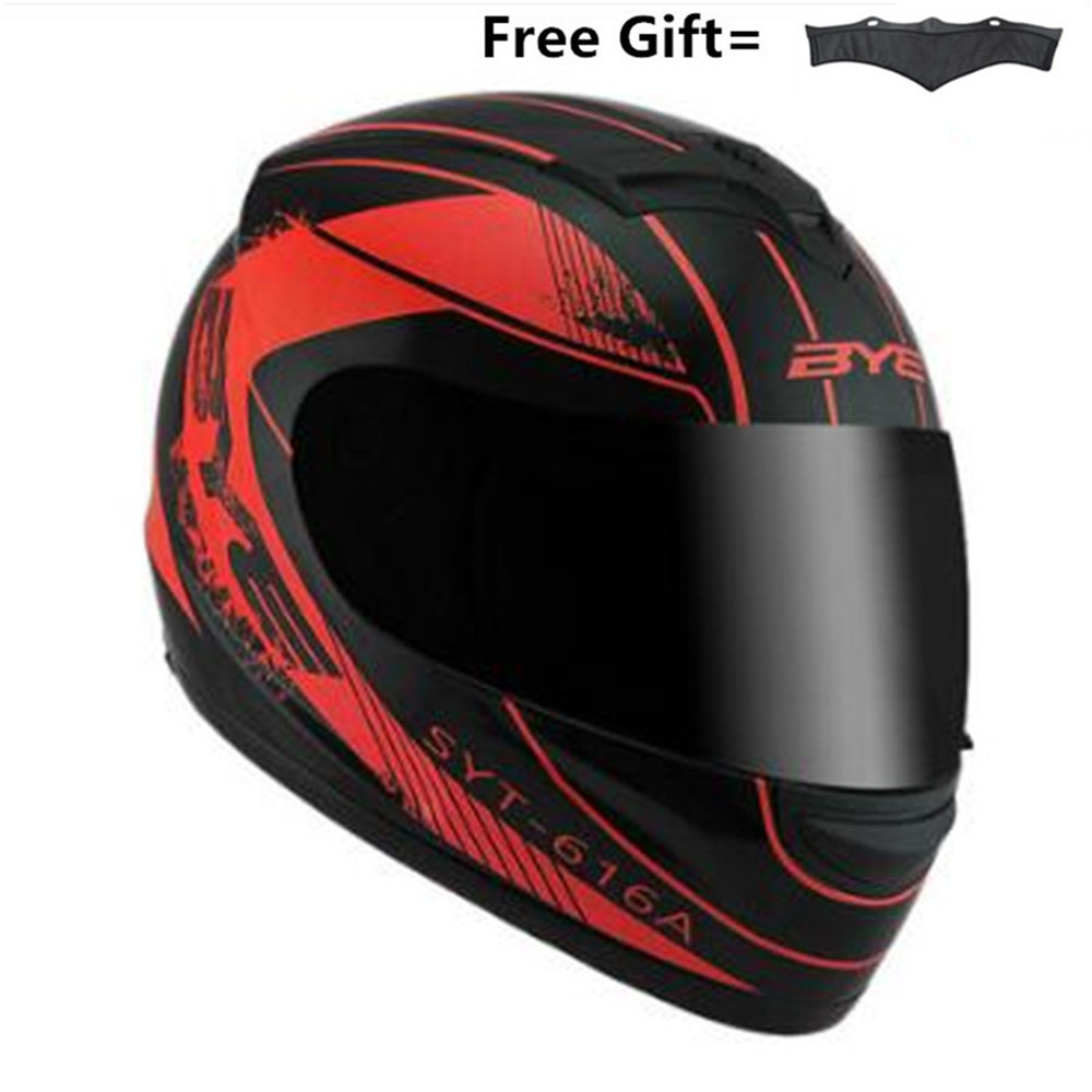 Street Motorcycle Helmet For Men & Women  DOT Certified Full Face Motorbike Helmet For Cruisers Sports Street Bike
