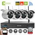 -WI-FI Sistema de CCTV 4ch HD NVR kits Sem Fio bala Câmera IP 960 P Câmera de CCTV Sistema de Vigilância de vídeo de Segurança Em Casa Kits [35]