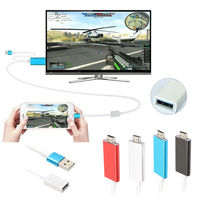 Currency HDMI Cable 2m AV HDTV TV Adapter USB Cable Connector TV Projector Monitor For HUAWEI