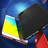 X Level For OPPO R9S Plus Colorful Case Ultra Thin Slim Soft Silicone TPU Protective Shockproof