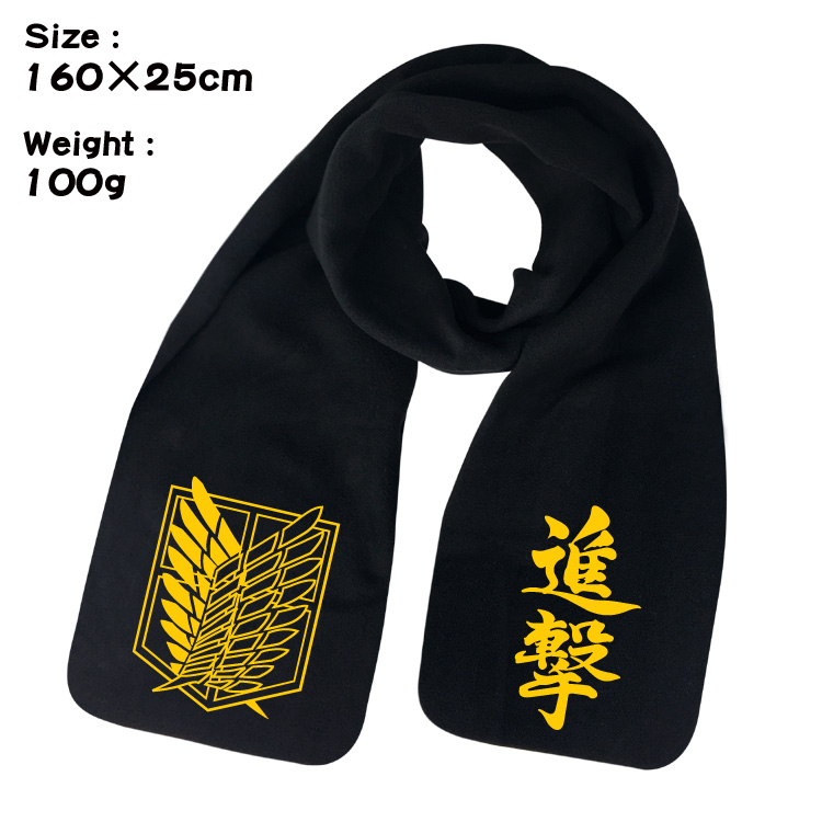 Film Attack on Titan plush keep warm neckerchief Fashion design high quality Neckerchief Soft Shawls Wraps Unisex Scarves in Boys Costume Accessories from Novelty Special Use