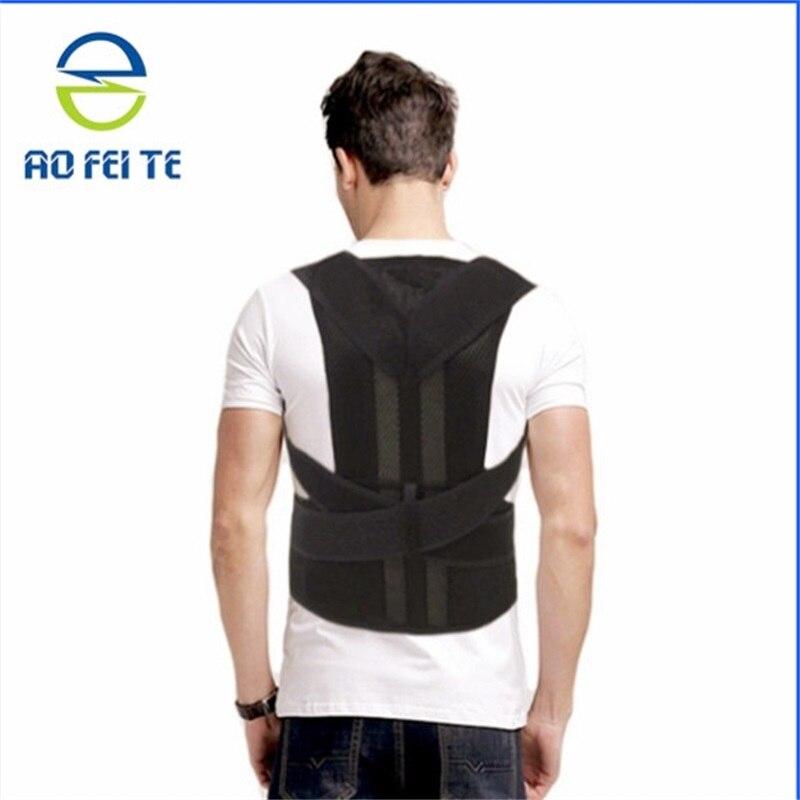 Back Support Shoulder Adjustable Back Brace Posture CorrectorBelt Men/ Women AFT-B003 Aofeite