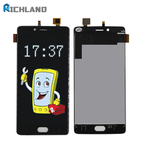 Richland LCD For Doogee Shoot 1 LCD Display Touch Screen LCD Digitizer Glass Panel Replacement For