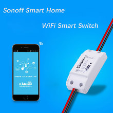 Switch,intelligent itead via timer sonoff ios switch wifi control remote android