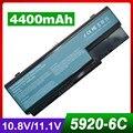 4400 mah batería del ordenador portátil para acer as07b41 as07b51 para aspire 5930g 5940 5942 6530 6530G 6920 6920G 6930 6930G 6935 6935G 7220 7230