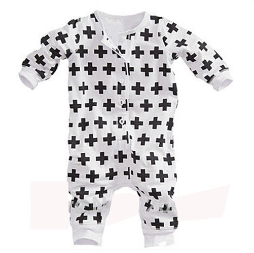 Baby Girls Kids Clothes Spring Autumn Winter Long Sleeves Rompers Newborn Playsuit Outfits Jumpsuit White baby rompers 2016 spring autumn style overalls star printing cotton newborn baby boys girls clothes long sleeve hooded outfits