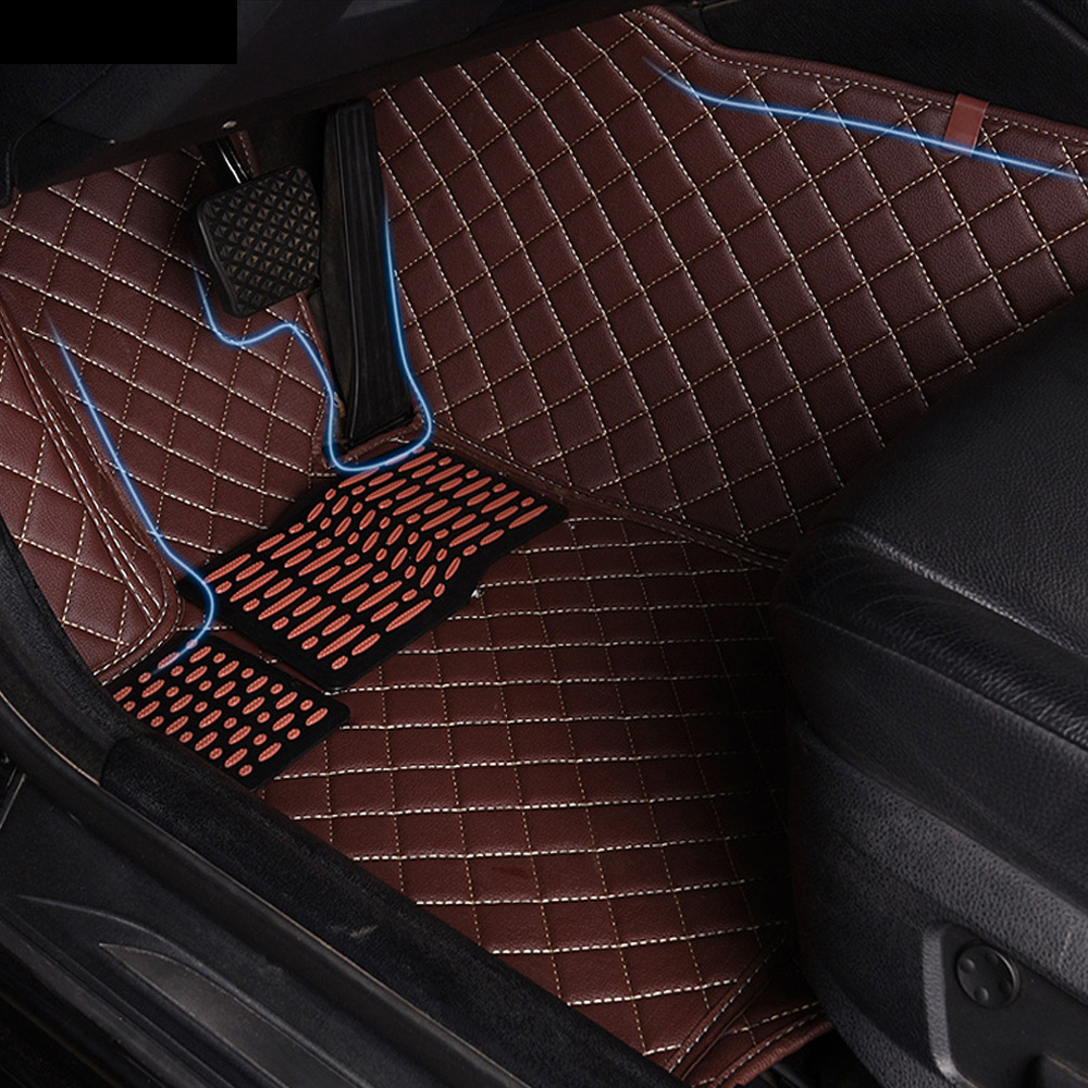 Car floor mats for Honda CRV CR-V Accord HRV Vezel Crosstour fit City 5D all weather car-styling carpet floor linersCar floor mats for Honda CRV CR-V Accord HRV Vezel Crosstour fit City 5D all weather car-styling carpet floor liners