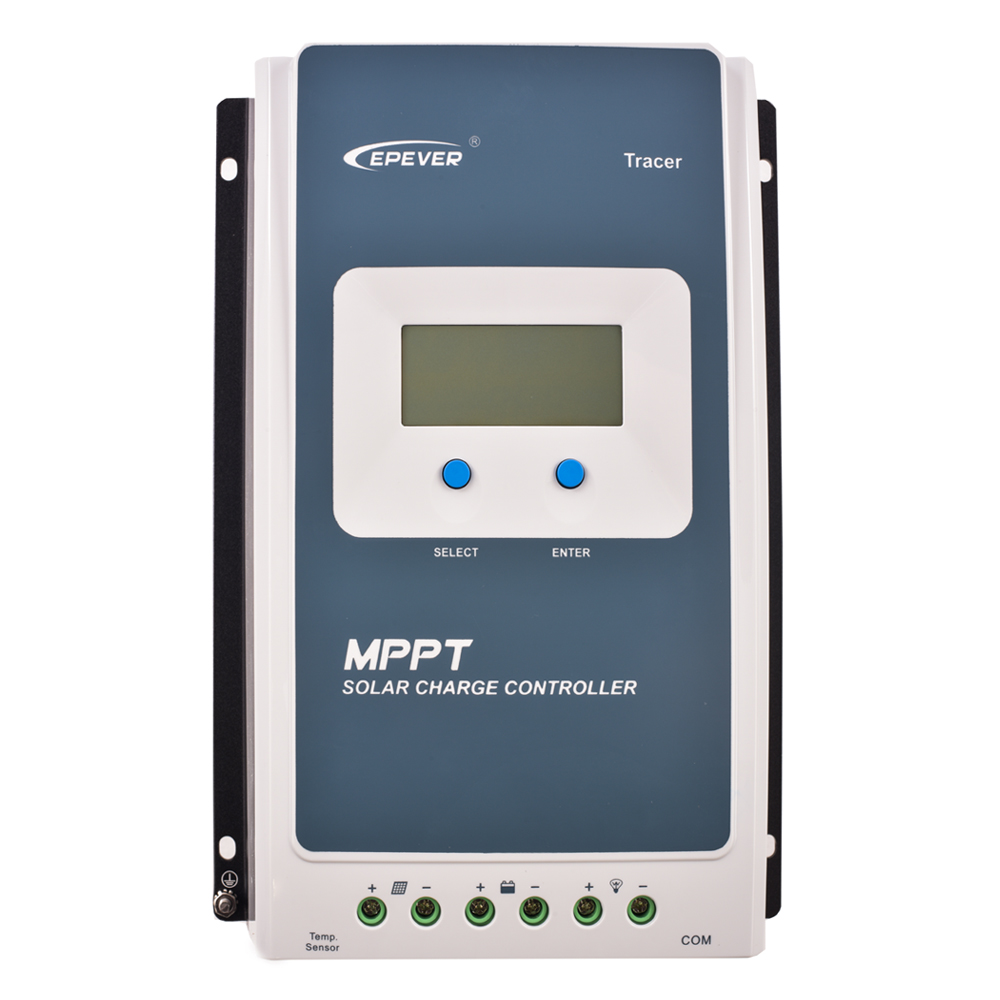 Solar Charge Controller Lithium Battery Controller 2210AN EPEVER TRACER 20A MPPT Solar Discharger Regulator 12V/24V LCD DisplaySolar Charge Controller Lithium Battery Controller 2210AN EPEVER TRACER 20A MPPT Solar Discharger Regulator 12V/24V LCD Display