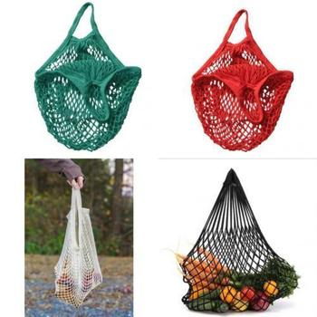 Reusable Mesh Net Woven Cotton Bag 1