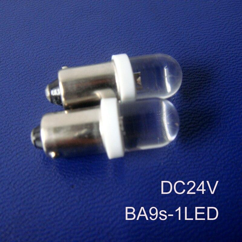 High quality 24v Truck BA9s led light BA9s led bulbs 24vdc led BA9s Pilot lamps,BA9s led Signal lights free shipping 50pcs/lot