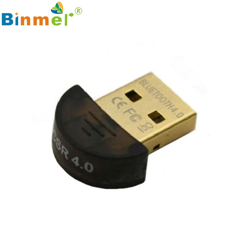 Del Mini USB Bluetooth V4.0 Fast Speed Dongle Dual Mode Wireless Adapter For Laptop Feb26