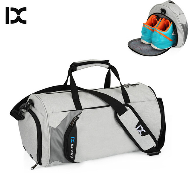 Ix Men Gym Bags For Training Waterproof Basketball Fitness Women Outdoor Sports Football Bag With Independent